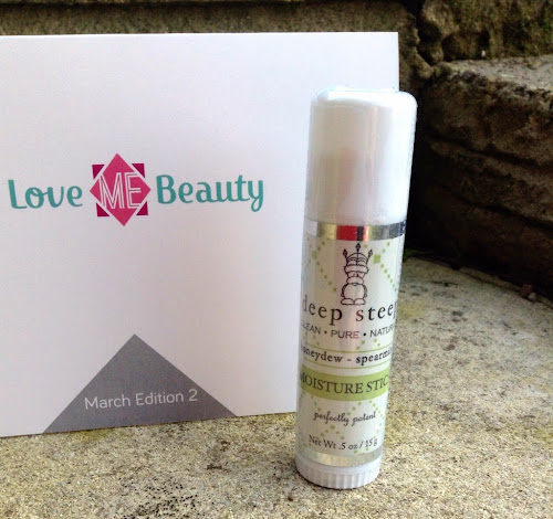 Deep Steep Moisture Stick from Love Me Beauty Box