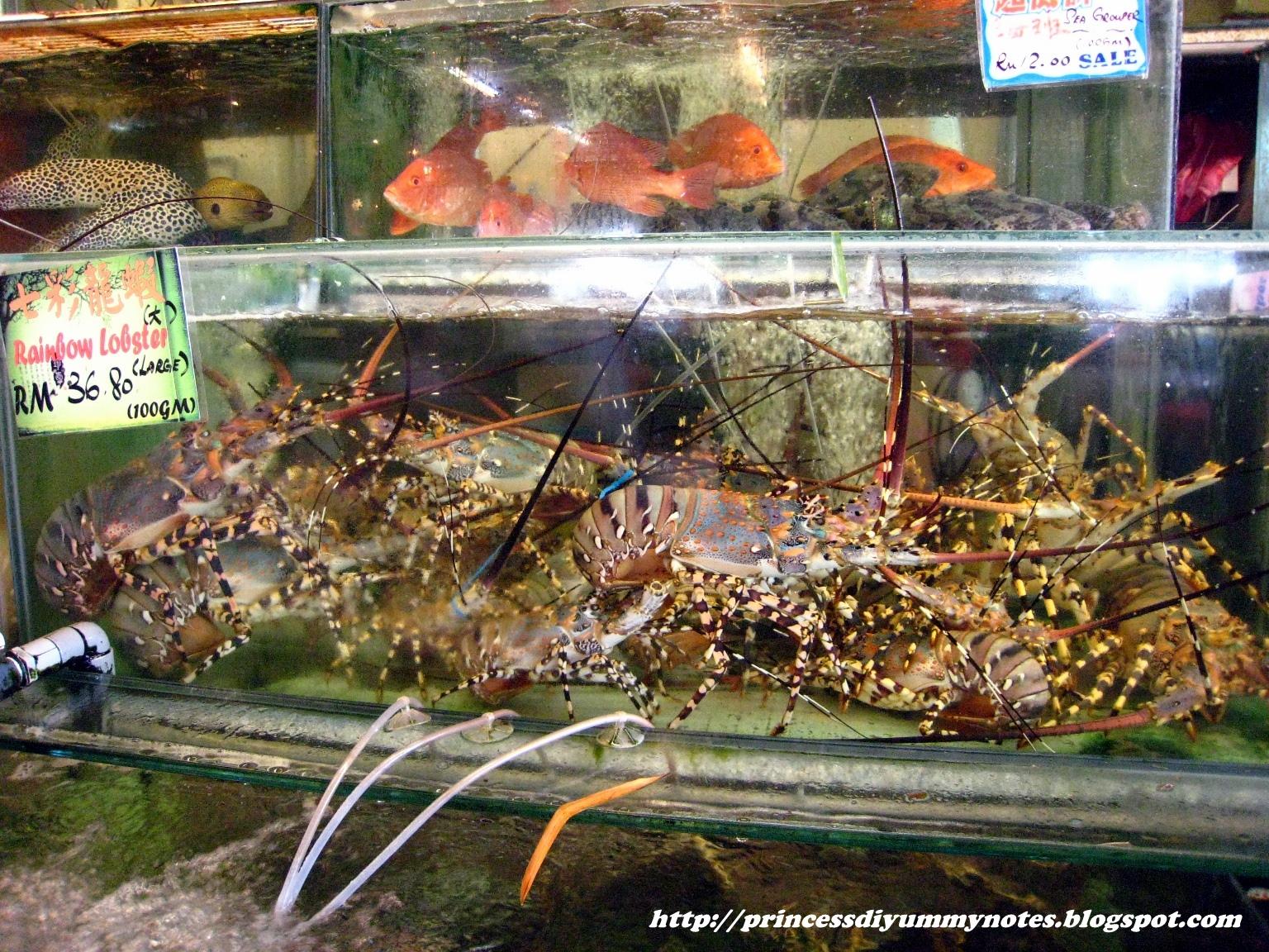Princess Di's Yummy Notes: Seafood Luncheon @ Bali Hai Restaurant, Gurney Drive, Penang