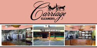 Dry Cleaners Sandy Springs Carriage Cleaners Logo