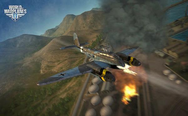 Game không chiến World of Warplanes mở cửa OBT 4