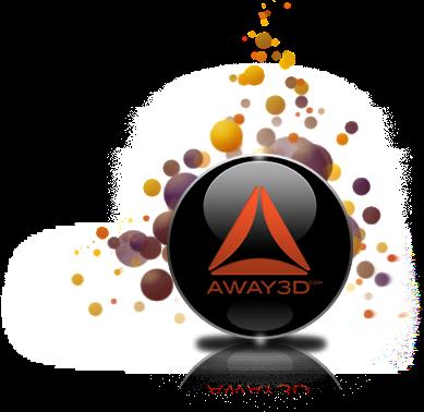 Away 3D Logo