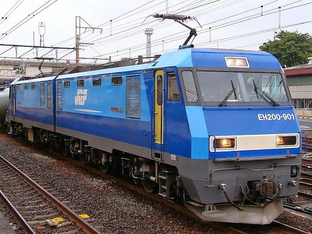 Tàu hỏa EH200 trong thực tế