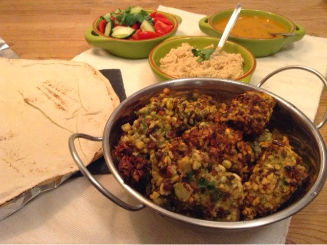 British Black Badger & Fava Bean Vegan Falafel