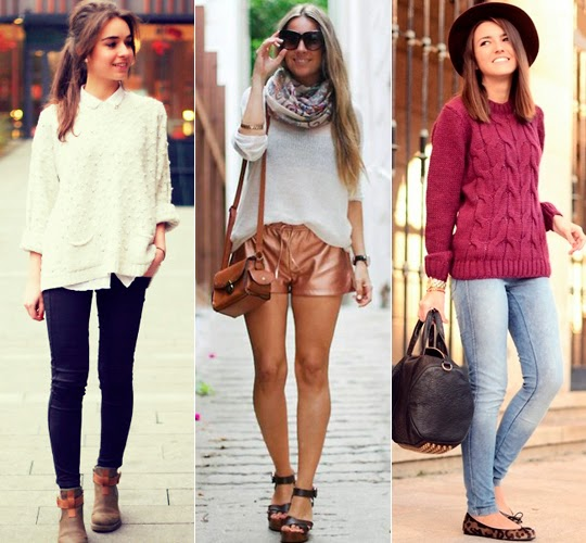 como usar suéter