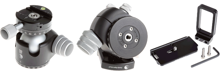 ReallyRightStuff BH-55 PCL (Full-Size Ballhead with PCL-1 Panning Clamp)