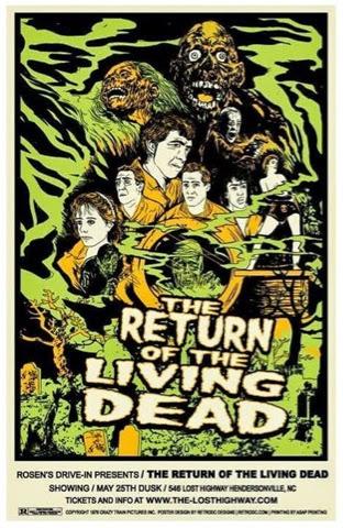 ¡Cartelicos!: El retorno de los muertos vivientes (1985).