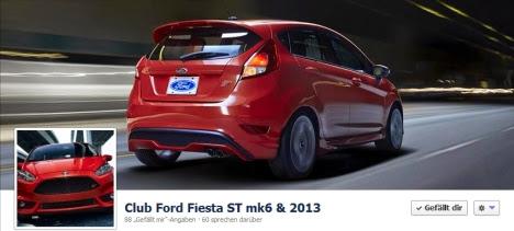 Club Ford Fiesta ST mk6 & 2013