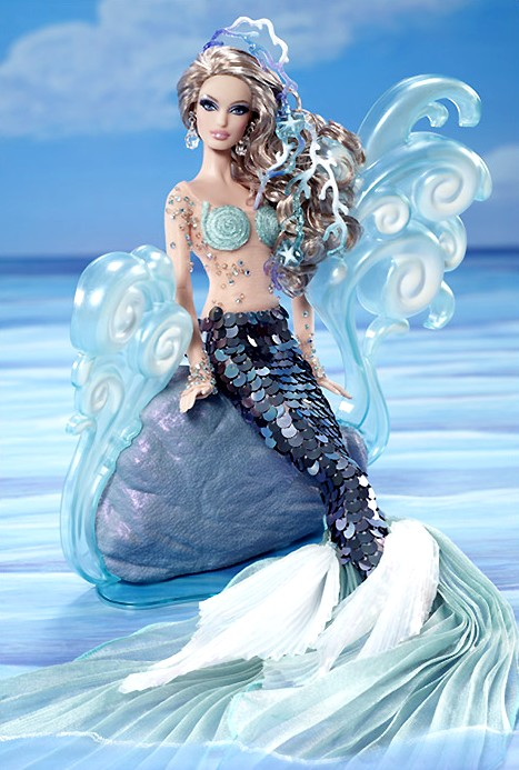 Mermaid Barbie Doll