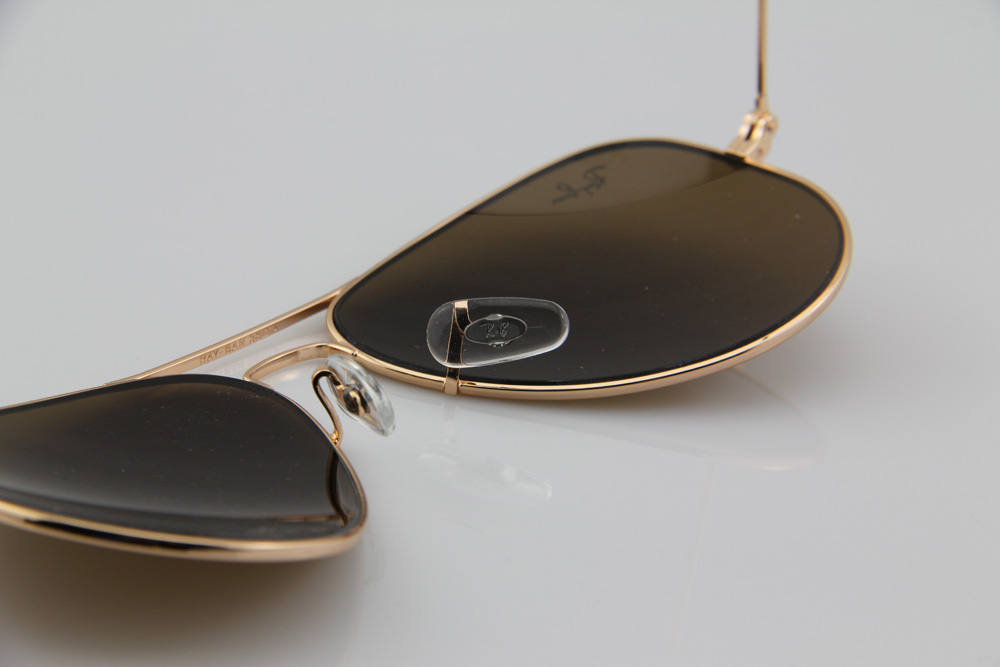 3639fe18297 100% GENUINE RAY BAN AVIATOR RB3025 001 33 GOLD BROWN 55MM 58MM 62MM