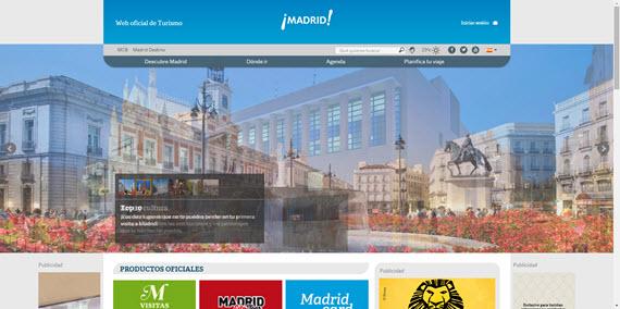 Nuevo Portal de Turismo de la Ciudad de Madrid