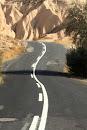Дорога в Каппадокии