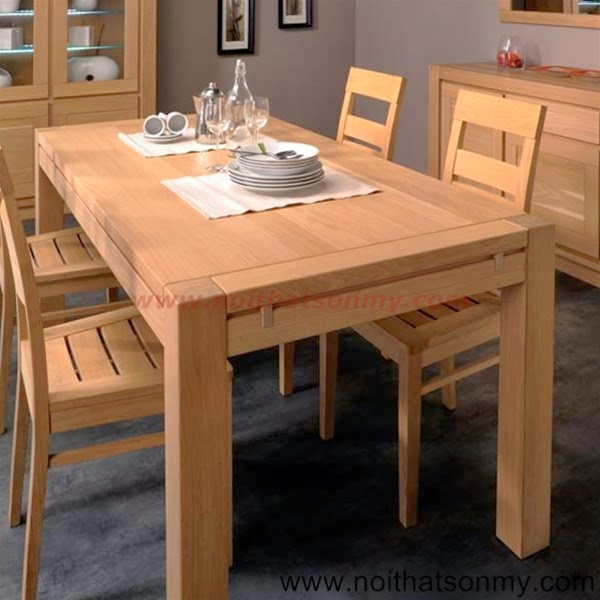 Bộ bàn ăn gỗ 13