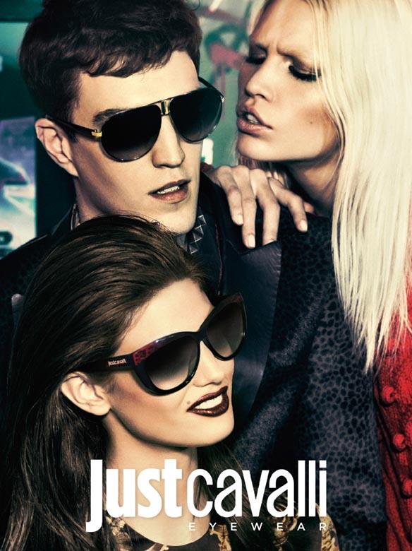bb43485200a Just Cavalli Glasses 2013 - Fall-Winter 2012-2013 Campaign