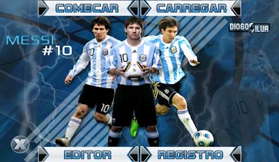 Skin Messi - Posições Alteradas - Brasfoot 2011