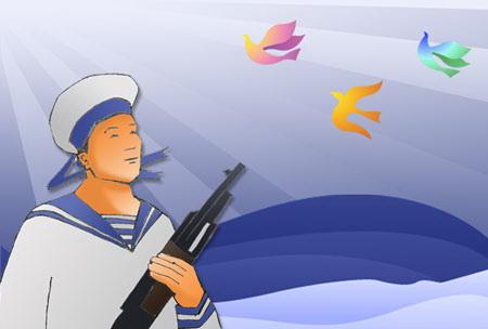 Bài thơ gửi anh người lính đảo xa