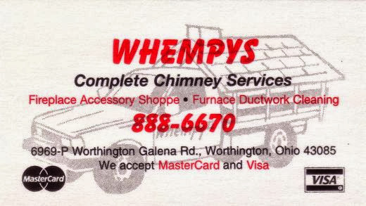 Chimney Sweeps Columbus | Whempy's The Chimney Sweeps at 6969 Worthington Galena Rd, P, Worthington, OH