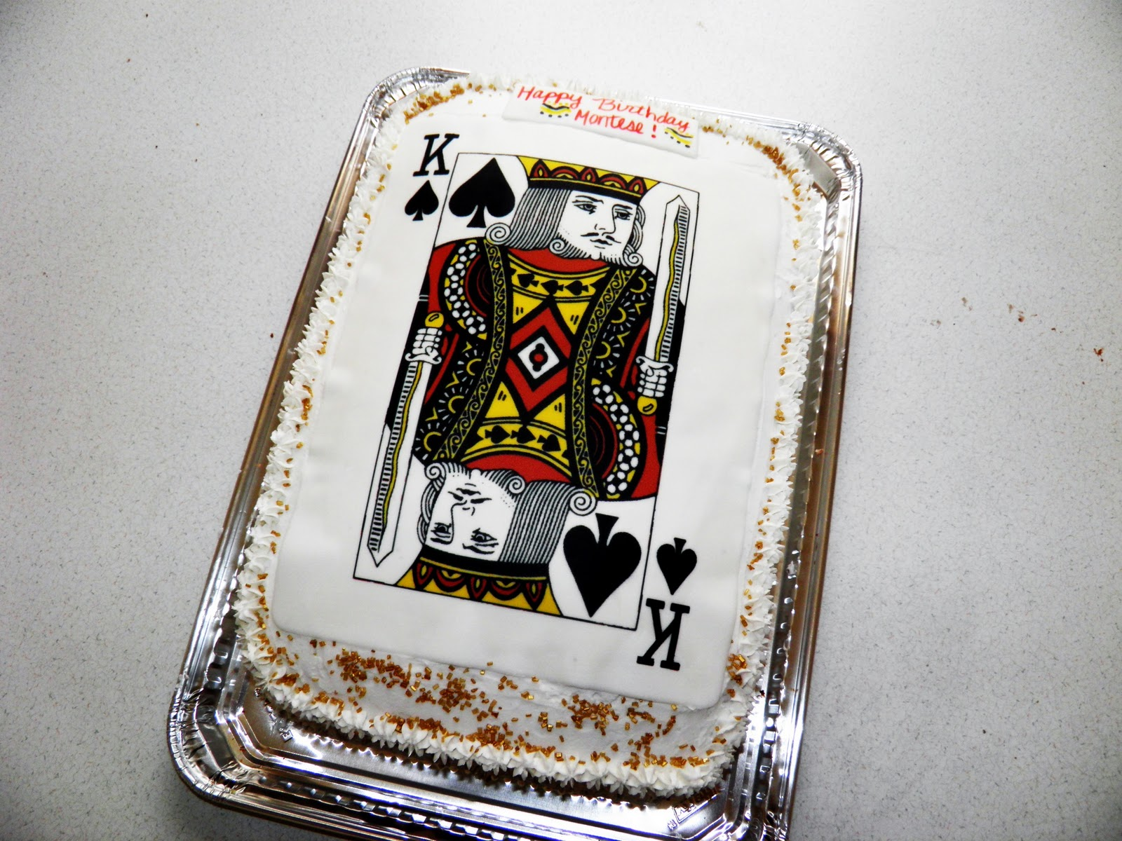 King Of Spades Cake