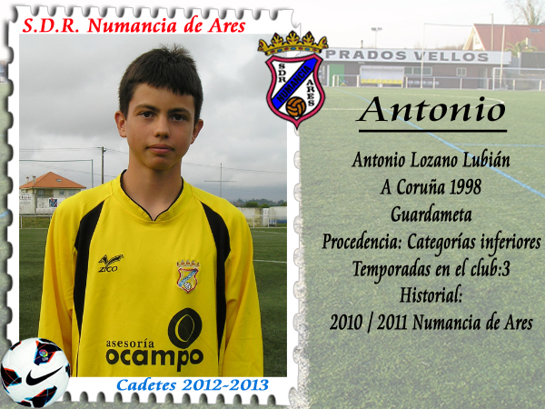 ADR Numancia de Ares. Antonio.