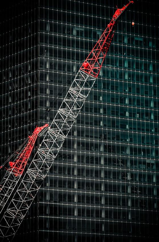 Crane, Façade, Tall Buildings, Architecture, Sky scrapers, New York City
