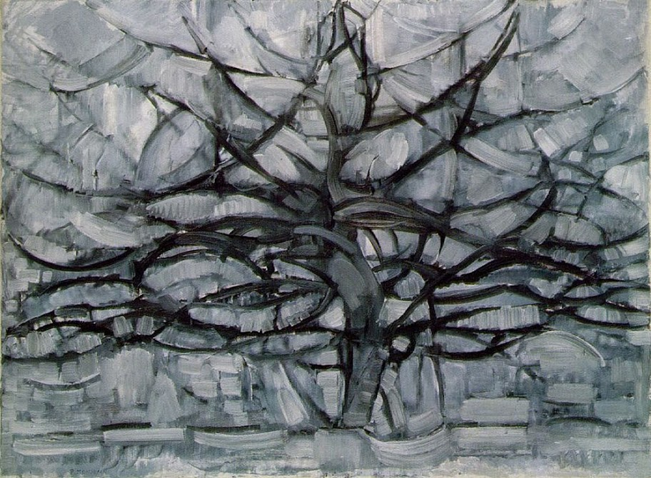Piet Mondrian - Gray Tree, 1912