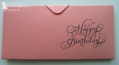 stampin up, beautiful birthday, envelope punch board, geburtstag