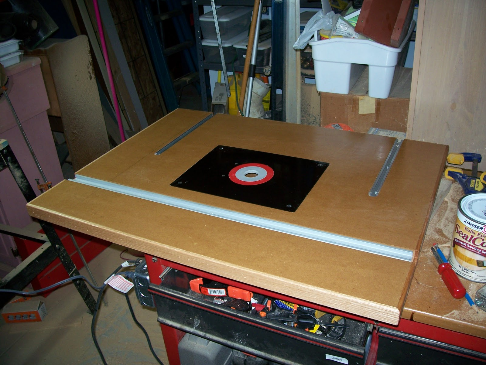 Workshop projects making a router table top for Making a router table