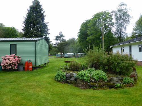 Camping  at Millbrook Caravan Site