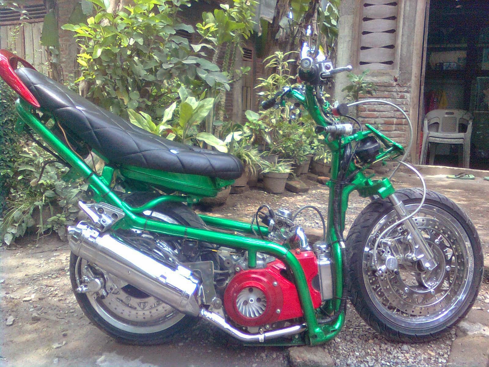 Motor Revo Modifikasi