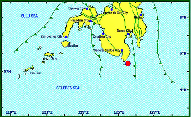 Earthquake in General Santos