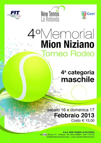 Torna per la quarta edizione, il Memorial Mion Niziano