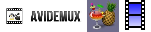 Avidemux, Handbrake, XMedia Recode logos