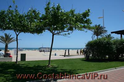 отдых в Испании, пляж Гандии, CostablancaVIP
