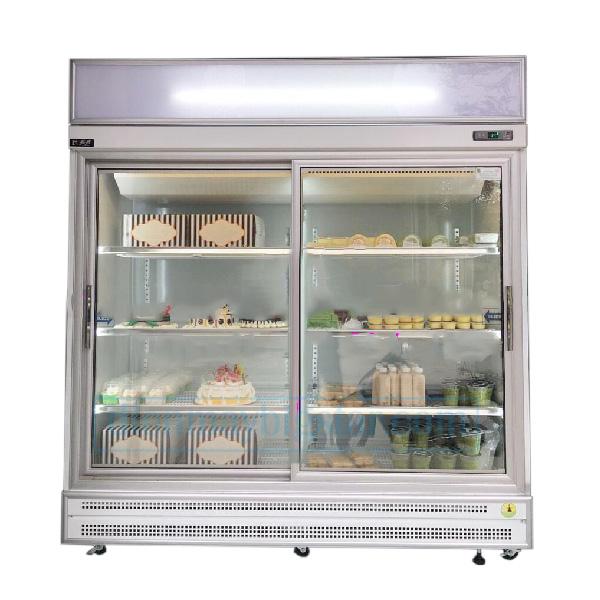 Tủ bánh kem 2 cửa lùa Đài Loan Ruey Shing S2011S
