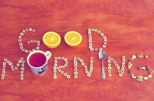 Thơ chào buổi sáng