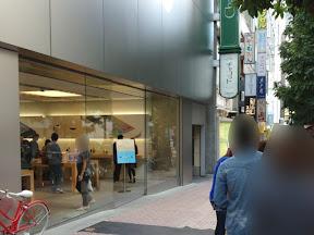 Apple Store 渋谷 2013年9月27日14時ごろ