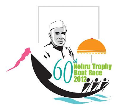 nehru trophy boat race 2012  logo image