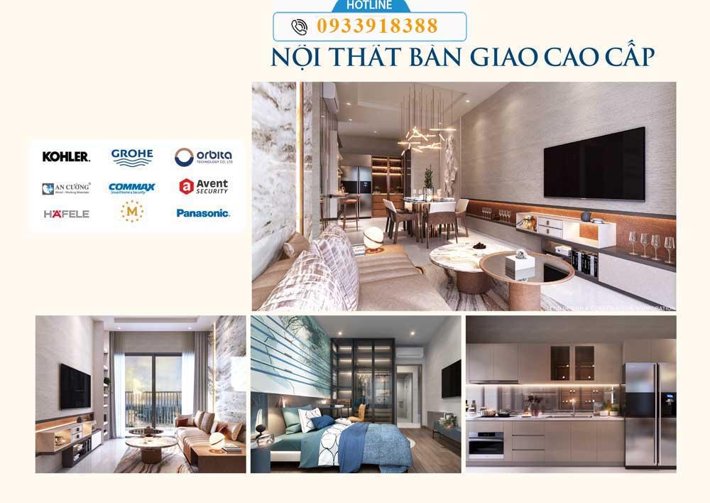 Thiết kế căn hộ The Rivana