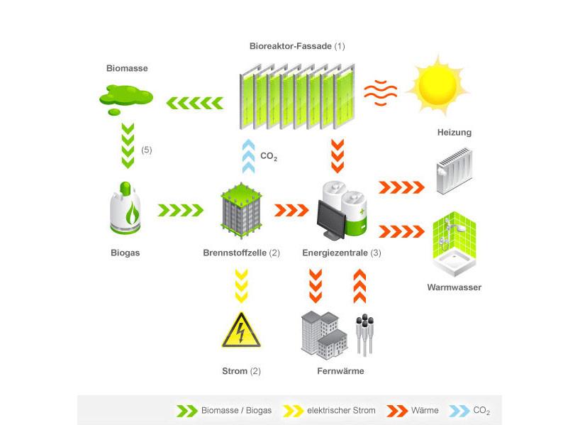 *真正的綠能建築BIQ:建築師Splitterwerk由海藻產生電能! 7