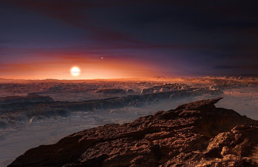 Astronomy: Planet found in habitable zone around nearest star
