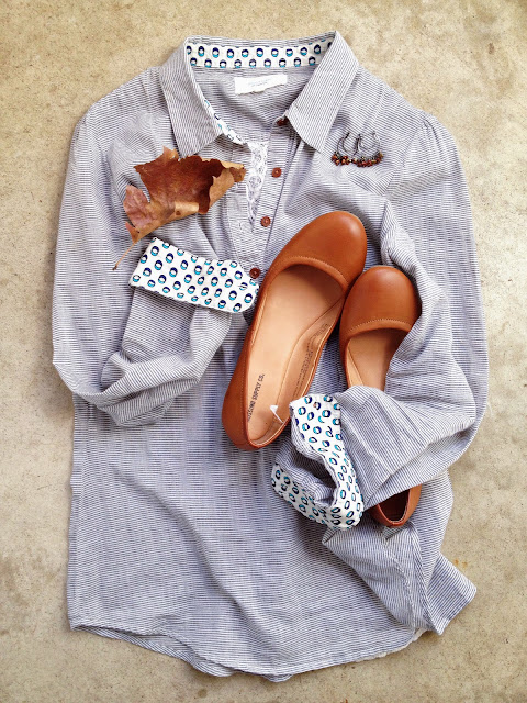 An Eclectic Blouse