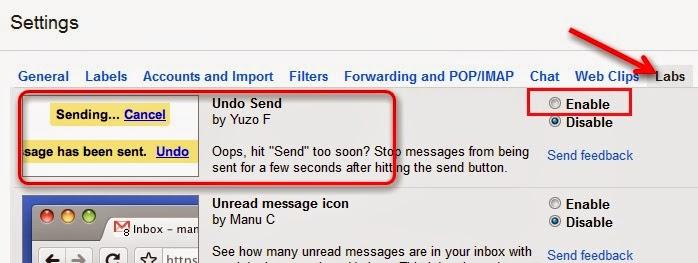 Cách hủy các email đã gửi nhầm đơn giản 2