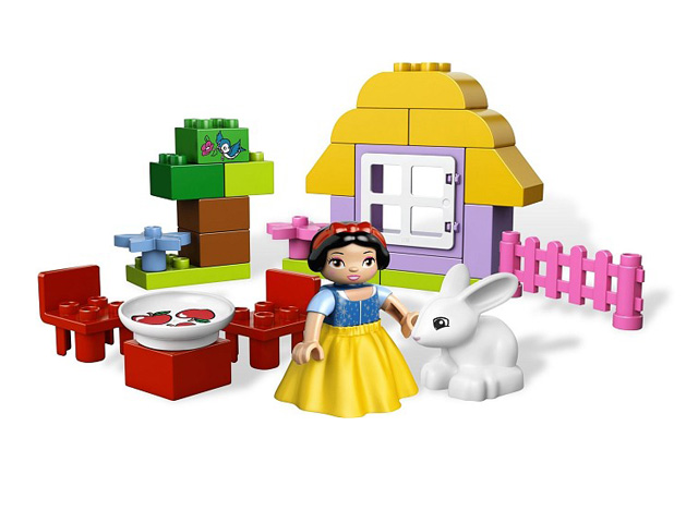 レゴ デュプロ プリンセス 白雪姫のおうち 6152