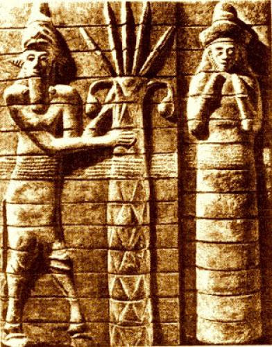 Sumerian Mother Goddess Ninhursag