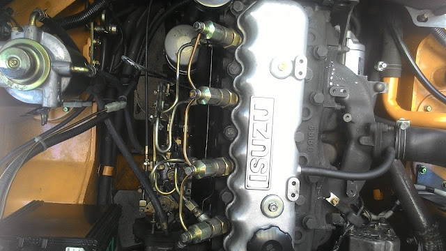 xe nang diesel tcm dong co isuzu