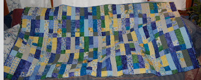 Jean's Summer Flowers-queen sized quilt