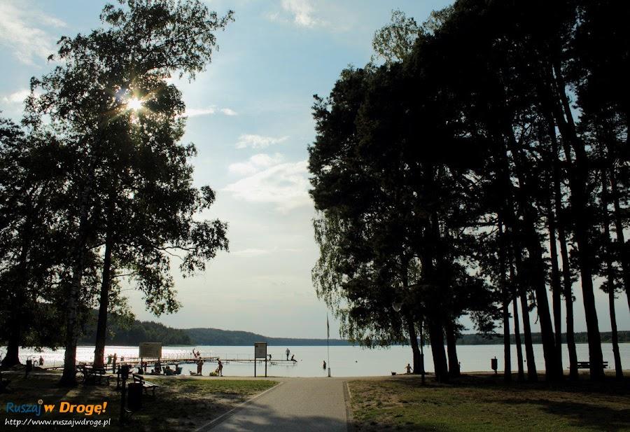 Kąpielisko nad jeziorem wielewskim