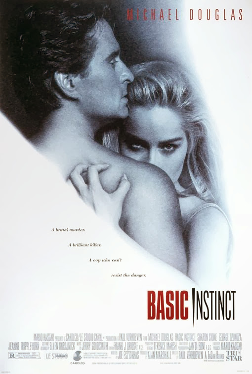Poster Of Basic Instinct (1992) Full Movie Hindi Dubbed Free Download Watch Online At Alldownloads4u.Com