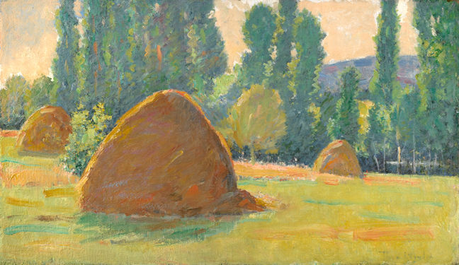 Theodore Wendel – Haystacks