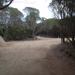 Service trail to Bournda Lagoon car park (102005)
