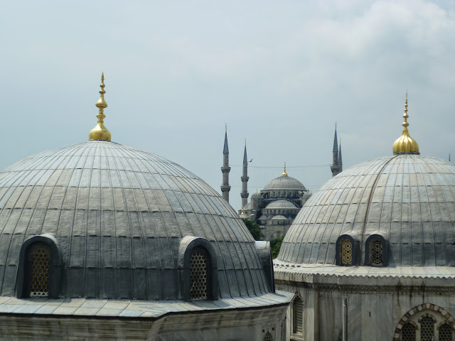 The Blue Mosque seen from Hagia Sophia